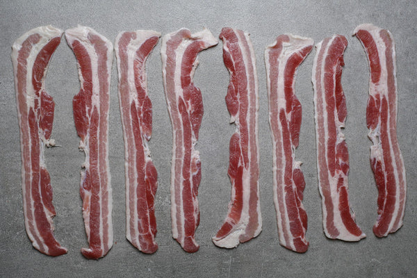 Home-cured Unsmoked Streaky Bacon - Best British meat by Family-run butchers London | Eat better meat!