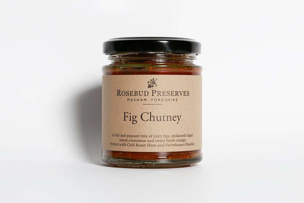 Rosebud Preserves Fig Chutney