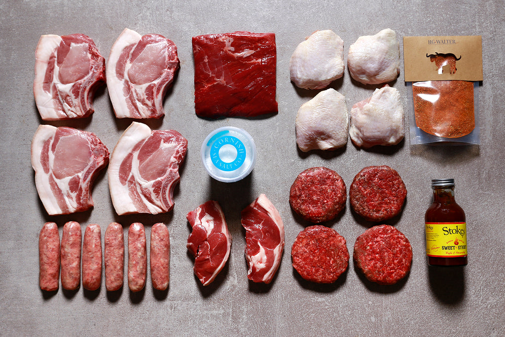 BASIC BBQ BOX FOR 4 - Best British meat by Family-run butchers London | Eat better meat!