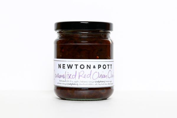 NEWTON & POTT CARAMELISED RED ONION CHUTNEY