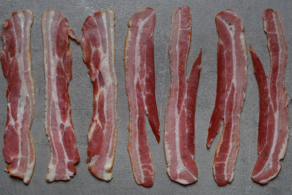 Home-cured Smoked Streaky Bacon