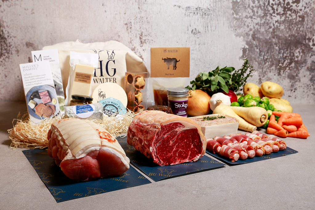 Large Christmas Hamper With Sirloin