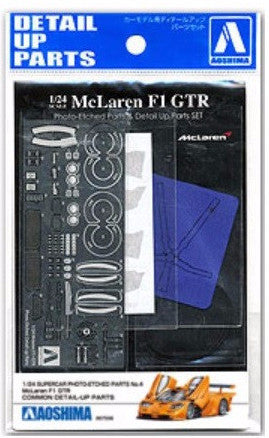 Mclaren F1 Gtr Photo-Etched Parts & Detail Up Parts Set