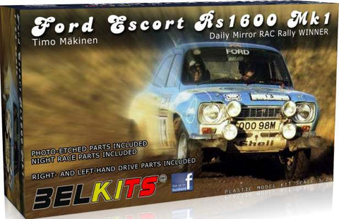 Ford Escort Rs 1600 Mk.1 (Timo Makinen)