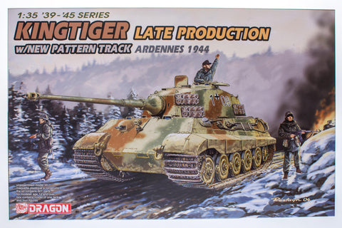 Kingtiger Late Production w/New Pattern Track (Ardennes 1944)