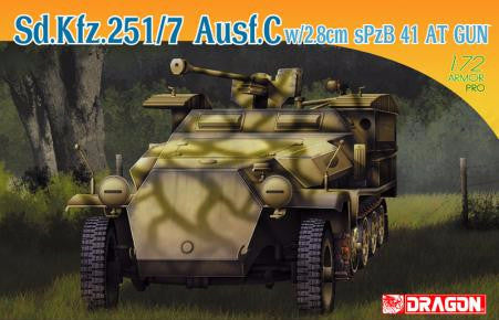 Sd.Kfz.251/7 Ausf. C w/2.8cm Spzb 41 AT Gun