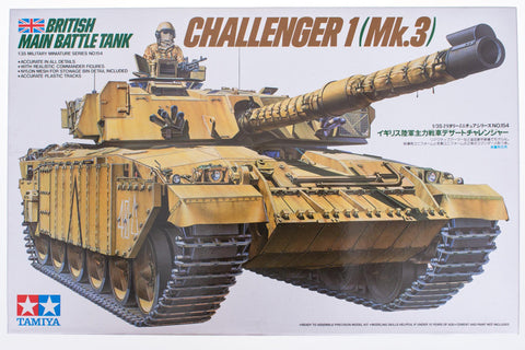 British Main Battle Tank Challenger 1 (Mk.3)