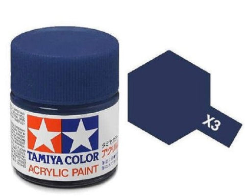 Acrylic Mini X-3 Royal Blue