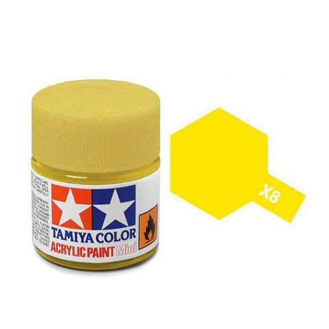Acrylic Mini X-8 Lemon Yellow
