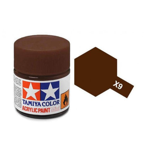 Acrylic Mini X-9 Brown