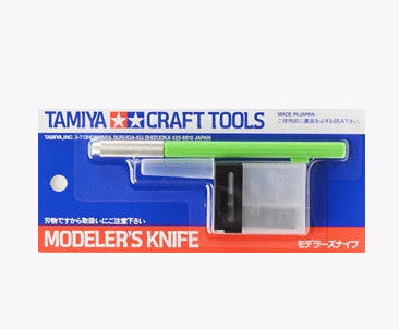 Tamiya Craft Tools Modeler's Knife (Light Green)