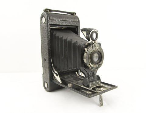 Antique camera No 2C Autographic kodak Jr vintage bellows camera