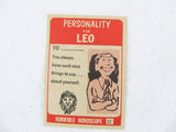 Horrible Horoscope Leo trading card no. 33