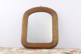 antique wood mirror