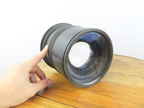 Xray critical part big camera lens for alternative photography