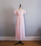 Baby pink night gown
