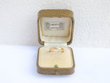 LIBERTY of London vintage leather ring box
