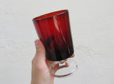 Set of 8 red wine glasses, drinking glasses