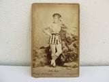 Antique CDV of Ada Lee, victorian portrait photography