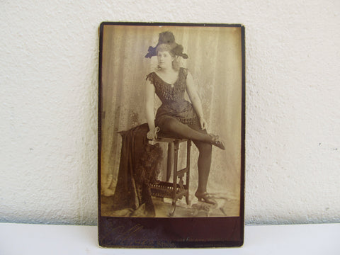 Antique CDV of a young woman by the Ollivier Studio