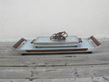 Salton Hotray electric hot plate, food warmer, warming tray with wooden handles
