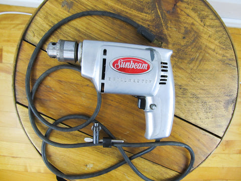 "1950s Sunbeam drillmaster model 180 3/8"" RD 1955"