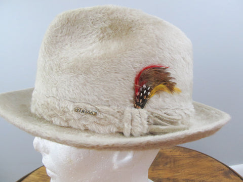 Imperial Stetson fedora fur felt hat size 7 for him or her