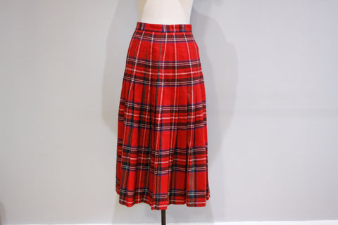 Vintage red kilt by Jeremy Scott sz 10