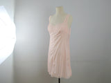 Vintage lingerie slip dress, pink full slip dress by Gafer size 5