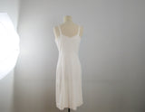 White Wonder Maid molded magic slip dress size 36