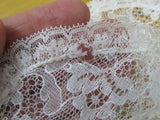 Vintage lace panties size 5, tap pants, lacy high waist briefs
