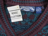 Vintage cotton sweater by Jockey size S new old stock