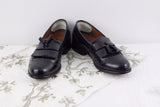 Bostonian Classics black leather slip on loafer womens size 8.5