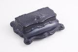 Ebony stamp box, Victorian era