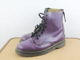 Dr Martens womens boots purple US size 9 - 9.5