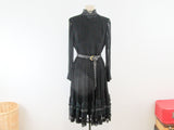 Vintage gothic lolita dress by Wolf H Busse, mourning dress, Victorian lolita