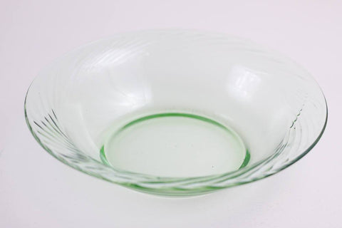 Green pyrex soup bowls, dinner set replacement pieces, cereal bowls - 10 available