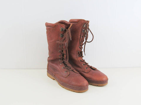 Bally Trailblazer boots, brown leather boots size US mens 8.5