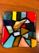 Load image into Gallery viewer, Fused Glass Coin Dish