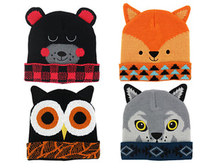 Kid Critters Hats