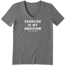 Load image into Gallery viewer, Exercise Is My Medicine Tee
