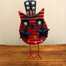 Load image into Gallery viewer, Patriotic Standing Owl