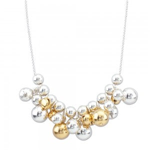 Silver & Gold Jingle Necklace
