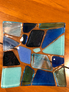 Fused Glass Coin Dish