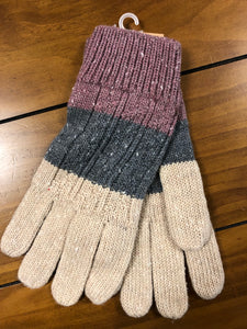 Tri Colored Gloves