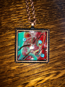 Hand Made Enamel Necklaces