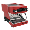la marzocco linea mini espresso machine red