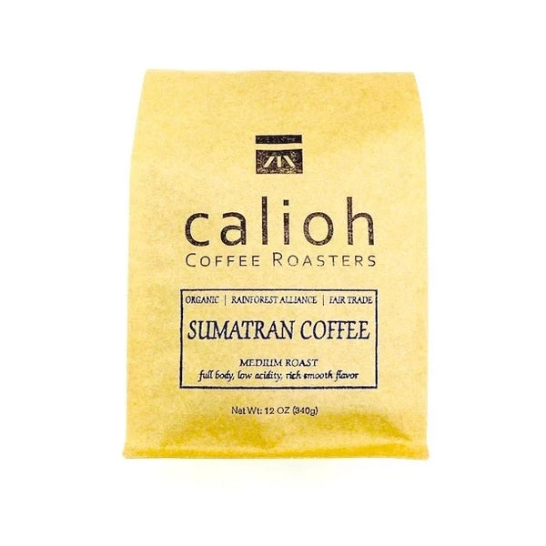 organic sumatra coffee bag