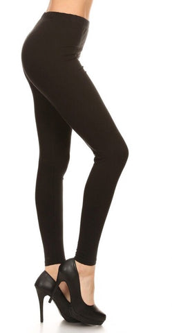 Yoga Band Super Soft Leggings (Black, Brown, Charcoal)