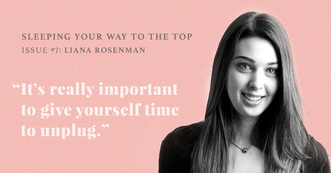 FOR PROJECT HEAL CO-FOUNDER LIANA ROSENMAN, TIME TO UNWIND IS KEY.
